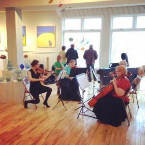 The Addison String Quartet playing Tangos